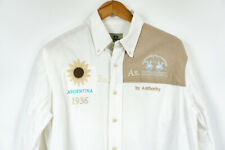 LA Martina Shirt Buenos Aires ARGENTINA Mens White Size L
