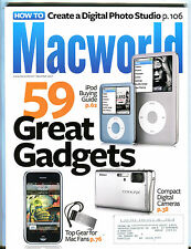Macworld Magazine December 2007 59 Great Gadgets EX 072516jhe