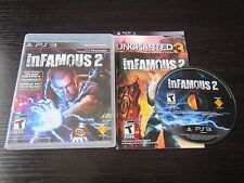 Sony Playstation  PS 3 PS3 inFamous 2 complete & tested