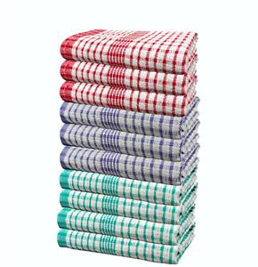 Wonderdry Mix Color Tea Towels Quick Dry 100% Cotton Kitchen Cloth Bar Dishcloth