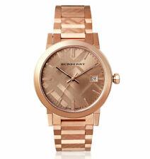Burberry Stainless Steel Rose Gold Dial Women's Quartz Watch BU9039 38 MM