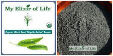 Organic NIGELLA SATIVA Seed POWDER-AKA Black Cumin ,Kalonji, Black Seed 1 oz