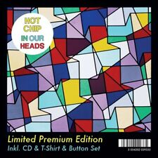 HOT CHIP - IN OUR HEADS (LTD PREMIUM EDITION) 2 CD + T-SHIRT GR. M NEW+