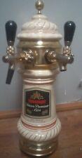 Colonna ceramica Vintage birra alla spina spillatore Henninger kaiser premium.