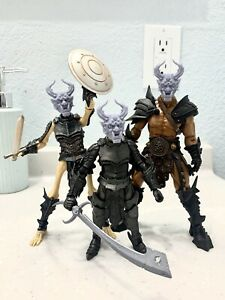 Mythic Legions Custom Oni Head