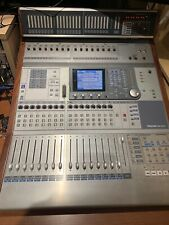 Tascam DM3200 Mixer with Firewire Card and Mu Meter display