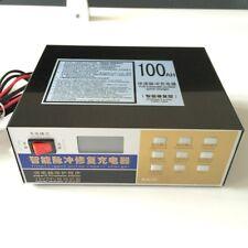 Intelligent Pulse Repair Type 110V/220V to 12V/24V 100AH Car Battery Charger