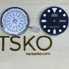 NH36 with Factory Installed 4 o'clock Date Wheel for SKX007 mods