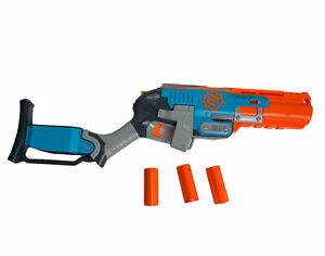 Nerf Zombie Strike Sledgefire Blaster With 3 Shells
