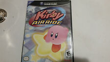 Kirby Air Ride (Nintendo GameCube, 2003) Black Label und komplett mit Handbuch