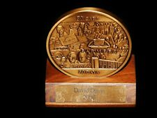 Vintage Office Decoration, FARMERS INSURANCE FOUNDERS AWARD BRASS COIN, 80 Cars