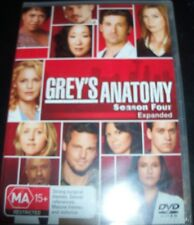 Grey's Anatomy Season 4 (Expanded Edition) (Australia Region 4) DVD – New