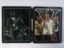 New Video Game Grand Theft Auto V GTA 5 paint Iron disc box case for PS4 Xbox