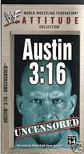 WWF Steve Austin 3:16 Uncensored VHS Video SEALED WWE