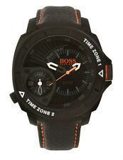 Hugo Boss Orange 1513221 Men's Stainless Steel Dual Timer Watch - RRP £ 179