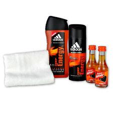 Geschenk-Set Energy Man mit Adidas Deep Energy Shower Gel und Kleiner Keiler