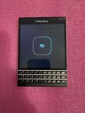 BlackBerry Passport -Sqw100-1 32Gb - Black (Unlocked) On Sim card- Only The Cell