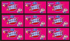 9 Vendstar 3000 Vending Machine Candy Stickers Label Free Shipping Gum Pcs