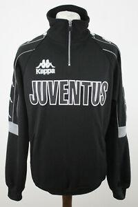 KAPPA Juventus Black 1/4 Zip Jumper size M