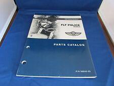OEM HARLEY-DAVIDSON 2003  FLT POLICE MODELS PARTS CATALOG. USED.