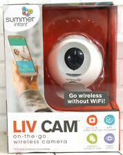 Summer Infant LIV Cam On-the-Go Wireless Camera Video Photo Sharing Night Vision