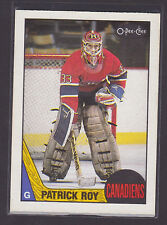 1987 87-88 O-Pee-Chee OPC #163 Patrick Roy 2nd Year NM/MT