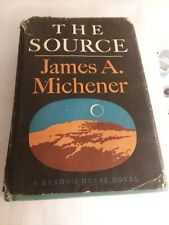 The Source by James A. Michener 1st printing,1965 & Basic Buddhist thinking 1961