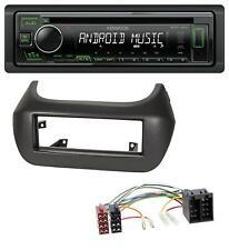 Kenwood CD USB 1DIN MP3 AUX Autoradio für Fiat Fiorino Qubo Citroen Nemo Peugeot