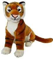 Kingdom Kuddles 16x25 Inch African Tiger Kenya- Plush Tiger Stuffed Animal