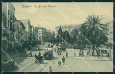 Napoli Città Tram cartolina XB1761