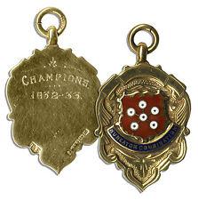Nuneaton Combination Football 1932-33 Gold Medal