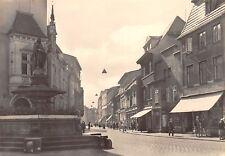 AK Güstrow Meckl. Straße des Friedens Strasse belebt Geschäfte Echt Foto Postkar