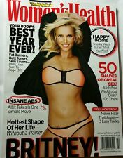 Woman's Health Insane abs Happy in 2015 Skin Savers Jan/Feb 2015 FREE SHIPPING