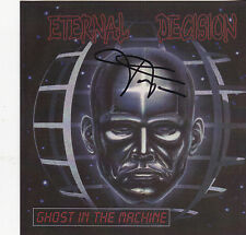 ETERNAL DECISION-GHOST IN THE MACHINE (*CD-AUTOGRAPHED, 1999) Xian Thrash