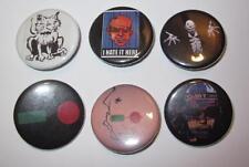 """Transmetropolitan Lot of 6 1 1/4"""" Pinback Buttons Spider Jerusalem DC Vertigo"""