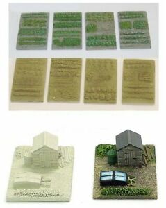 N Scale Allotment or Gardens (NS7 & NS1)