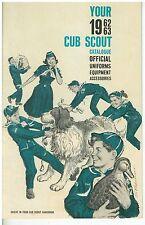 1962 Cub Scout Official Uniform & Equipment Catalog