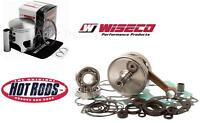 HOTRODS WISECO HONDA 87-89 TRX250R Top+Bottom End Rebuild Kit Piston Crankshaft