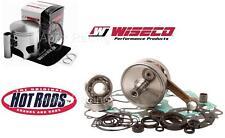 HOTRODS WISECO HONDA 1986 TRX250R Top+Bottom End Rebuild Kit Piston Crankshaft
