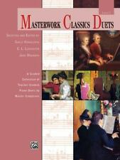 Masterwork Classics Duets, Level 2: A Graded Collection of Teacher-Student Pian