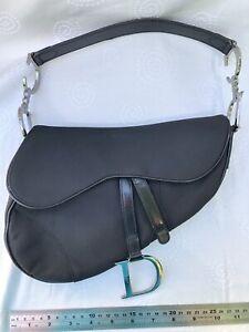 Genuine Christian Dior Vintage Rare Saddle Bag