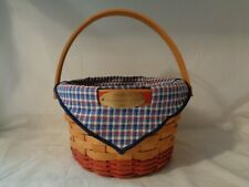 New ListingLongaberger Woven Memories Basket 2002, Liner, Protector