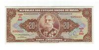 20 Cruzeiros Brasilien 1955 C084 / P.160a - Brazil Banknote