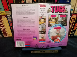 TUGS (High Tide, Warrior, Bigg Freeze) - Vhs copy from Beta & non original cover