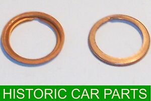 Oil Pressure Relief Valve Copper Washer for Austin A35 Saloon Countryman 1956-62