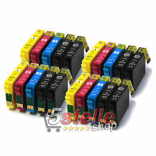 20 CARTUCCE COMPATIBILI PER STAMPANTE EPSON WORKFORCE WF-2630WF WF2630 WF