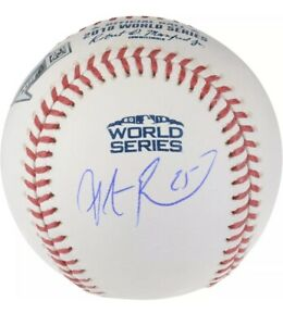 Steve Pearce Autographed Signed 2018 World Series Baseball Boston Red Sox