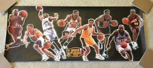1998 NBA Finals Poster Kobe Bryant Lakers Scottie Pippen Bulls Karl Malone Jazz
