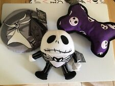 The Nightmare Before Christmas Dog Toys Lot Of 3