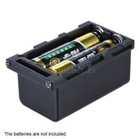 4pcs AA Battery Pack Case as NP-F750 Series Battery for LED Video Light Panel